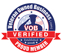 Veteran Owned Business Verified Proud Member Badge 200x180 cir